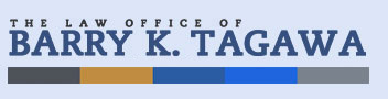 The Law Office Of Barry k. Tagawa -